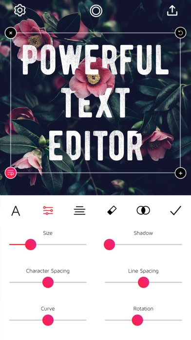 Font Candy Photo & Text Editor Screenshot