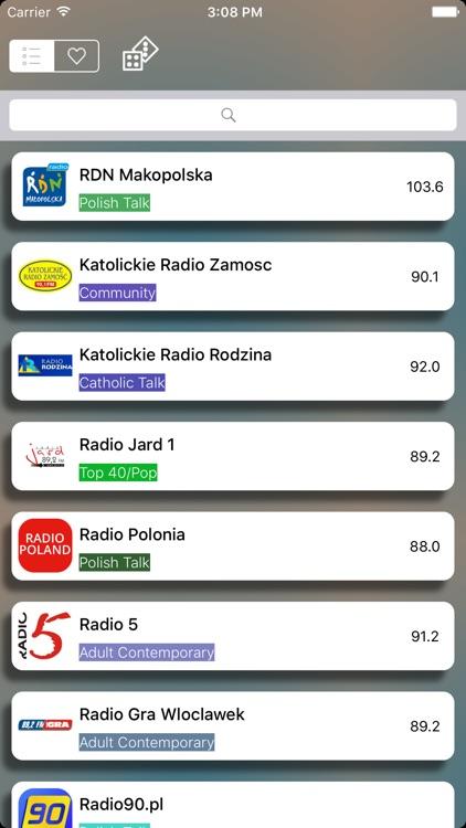 Polskie Radio  - Radio internetowe Polska screenshot-4