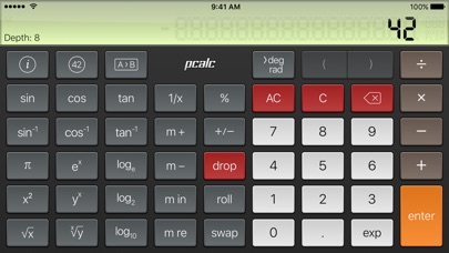 PCalc Lite screenshot four