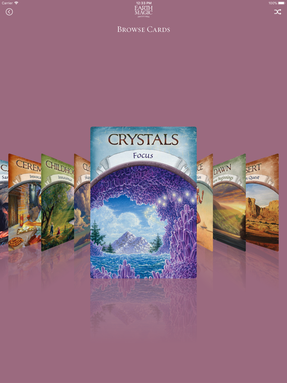 Earth Magic Oracle Cards screenshot 10