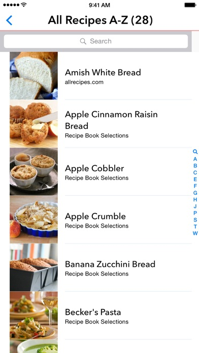 Screenshot for My Recipe Book Organizer in United Arab Emirates App Store