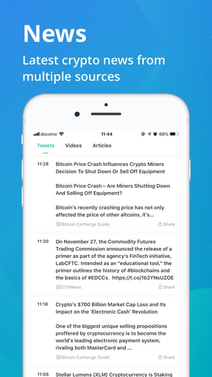 CoinView: Bitcoin Altcoin App screenshot-4