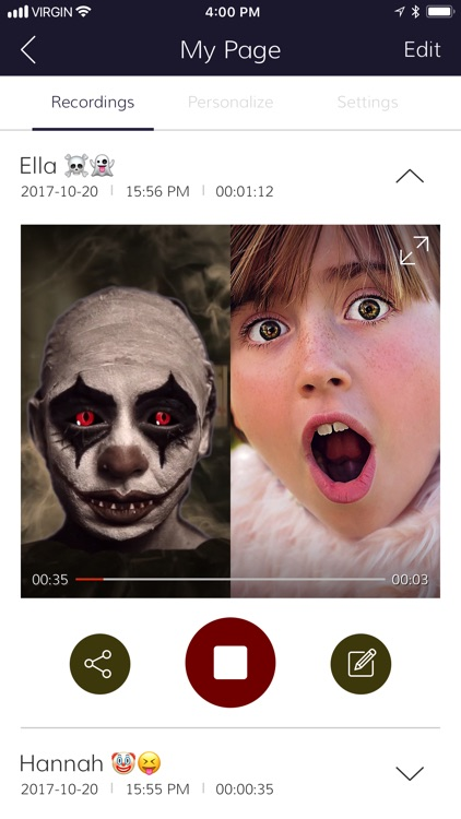 Video Call from Killer Clown screenshot-2