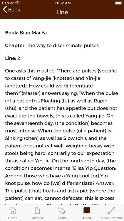 Chinese Medicine Classics screenshot-3