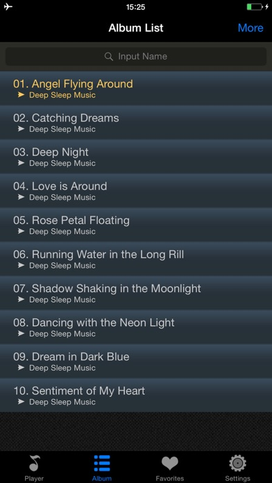 深い睡眠音楽スクリーンショット