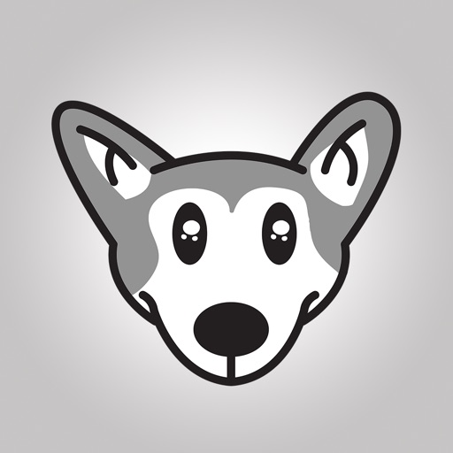 Animated Husky