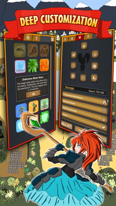 Legends of Magic Mobile screenshot three
