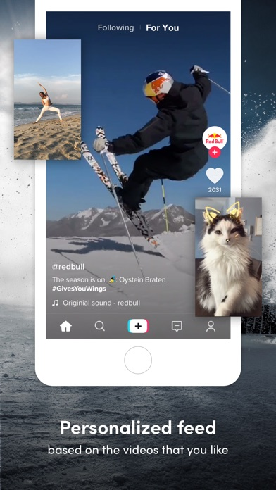 Screenshot of TikTok - Real Short Videos App