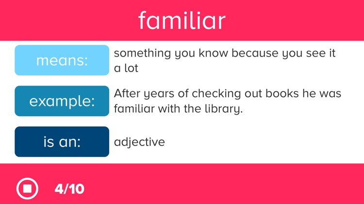 Vocabulary Prep screenshot-3