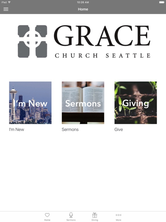Grace Church Seattle screenshot 4