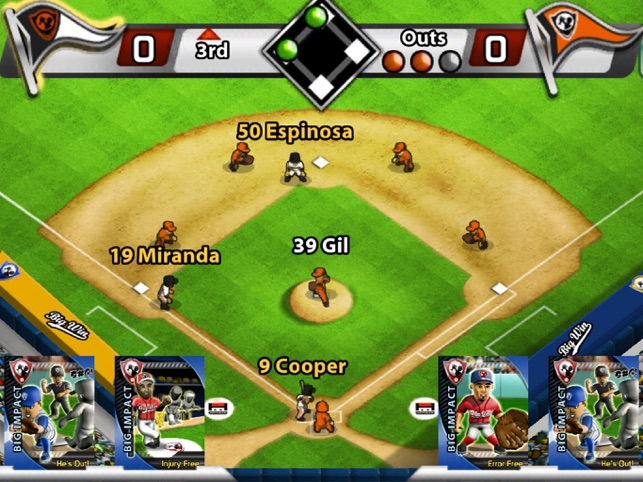 Big Win Baseball 2018 Screenshot