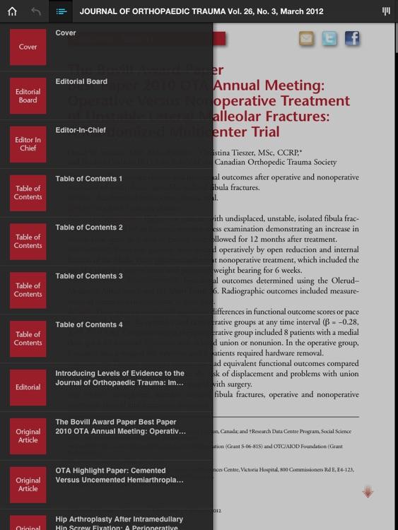 Journal of Orthopaedic Trauma
