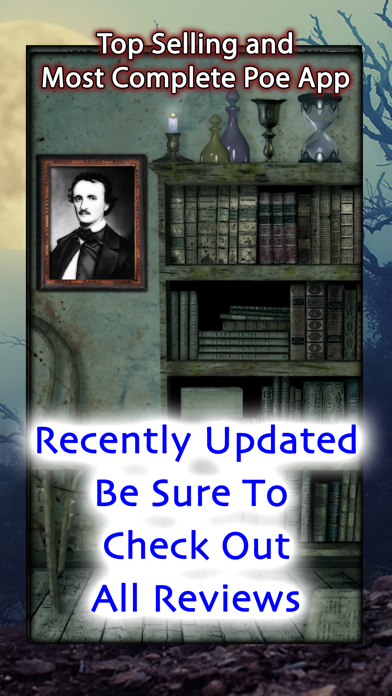 Complete Edgar Allan Poe review screenshots