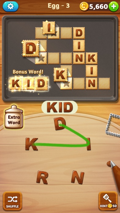 WordCookies Cross screenshot 2