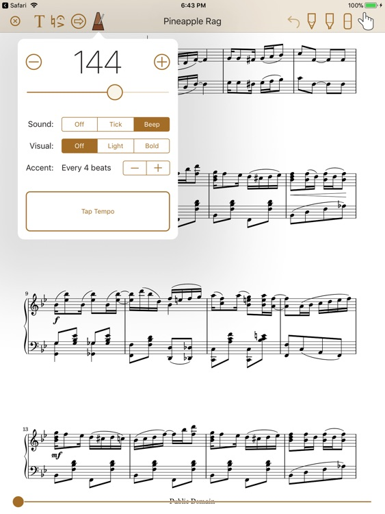Paperless Music screenshot-3
