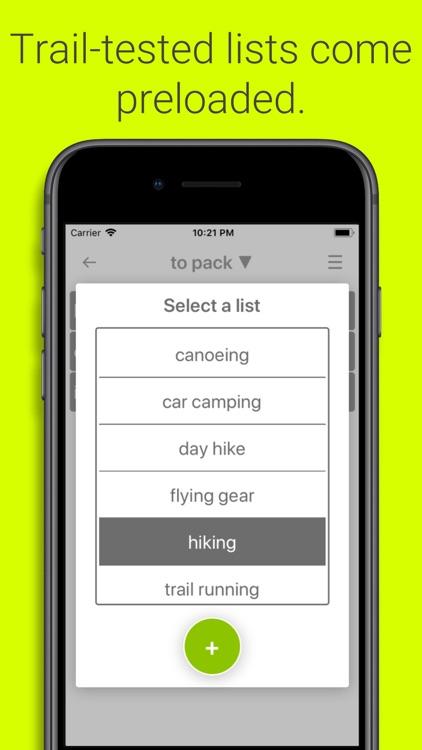 Packwise screenshot-3