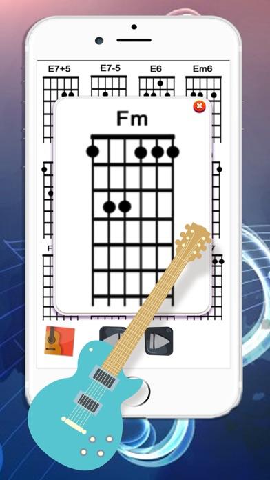 Guitar Tuner & Full Cord screenshot three