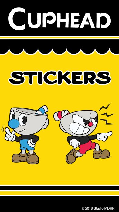 Скриншот №1 к Cuphead Stickers