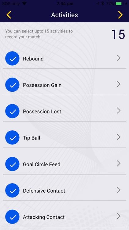 My Netball Stats screenshot-3