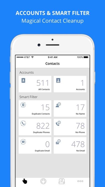 Contacts Backups & Restore screenshot-4
