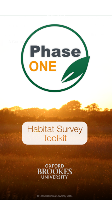 Phase 1 Habitat Survey Toolkit screenshot one