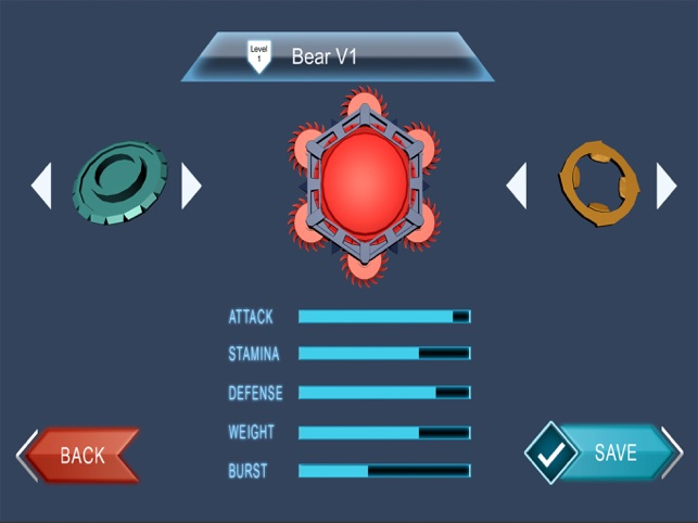 Beyblade : Spin Blade 3, game for IOS