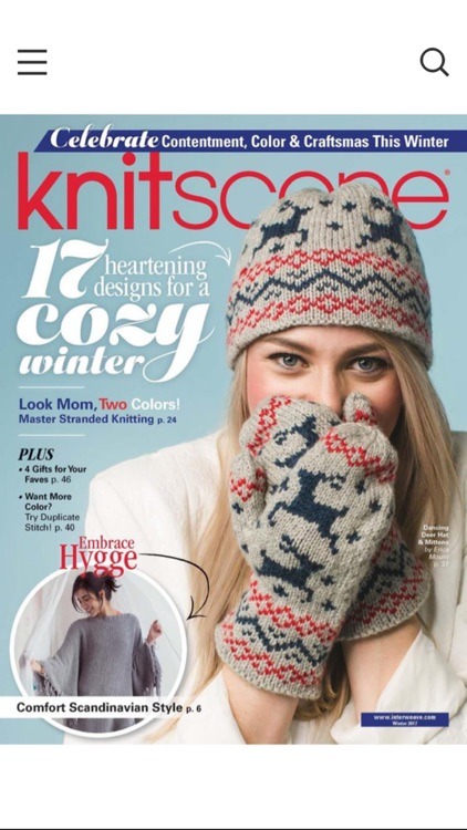 Knitscene Magazine screenshot-0