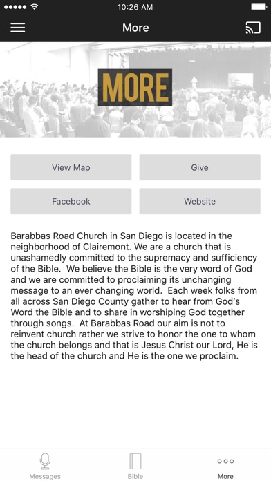 Barabbas Road Church screenshot 3