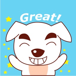 Excited Dog Animated Stickers