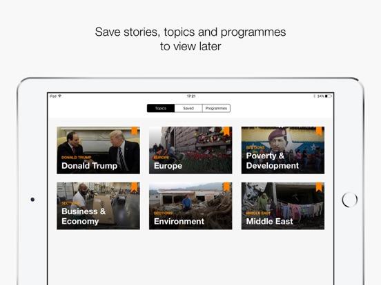 Al Jazeera English iPad