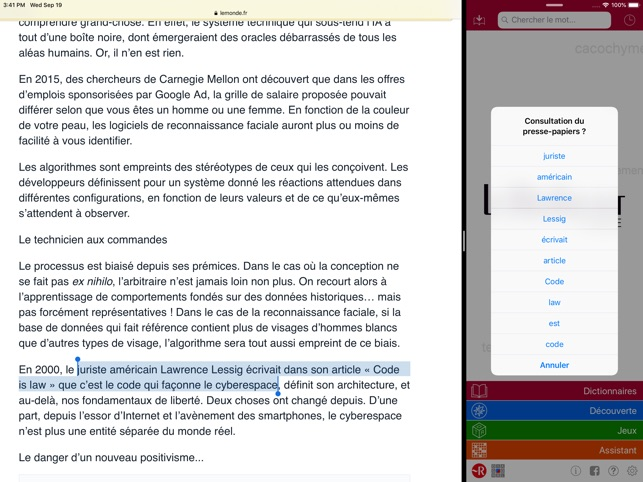 Dictionnaire Le Robert Mobile On The App Store