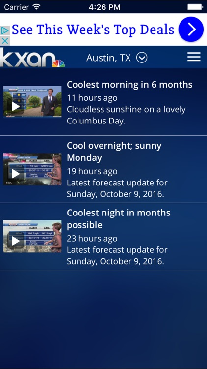 KXAN Weather screenshot-1