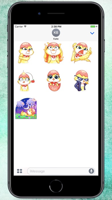Screenshot for Happy Duck Stickers in Colombia App Store