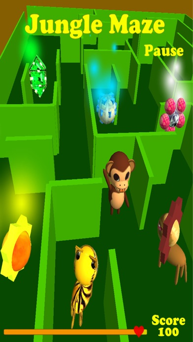 Jungle Maze Pro screenshot one