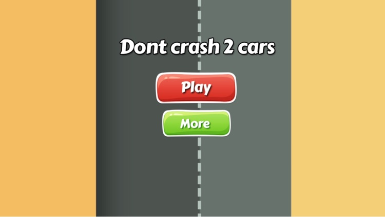 Don't crash of cars