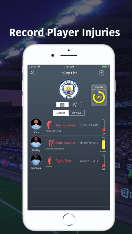 SoccerPulse - Player Tracker screenshot-4