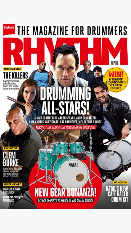 Rhythm: the magazine for drummers