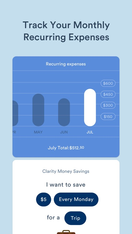 Clarity Money - Budget Manager