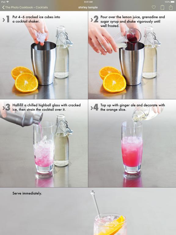 The Photo Cookbook - Cocktails screenshot