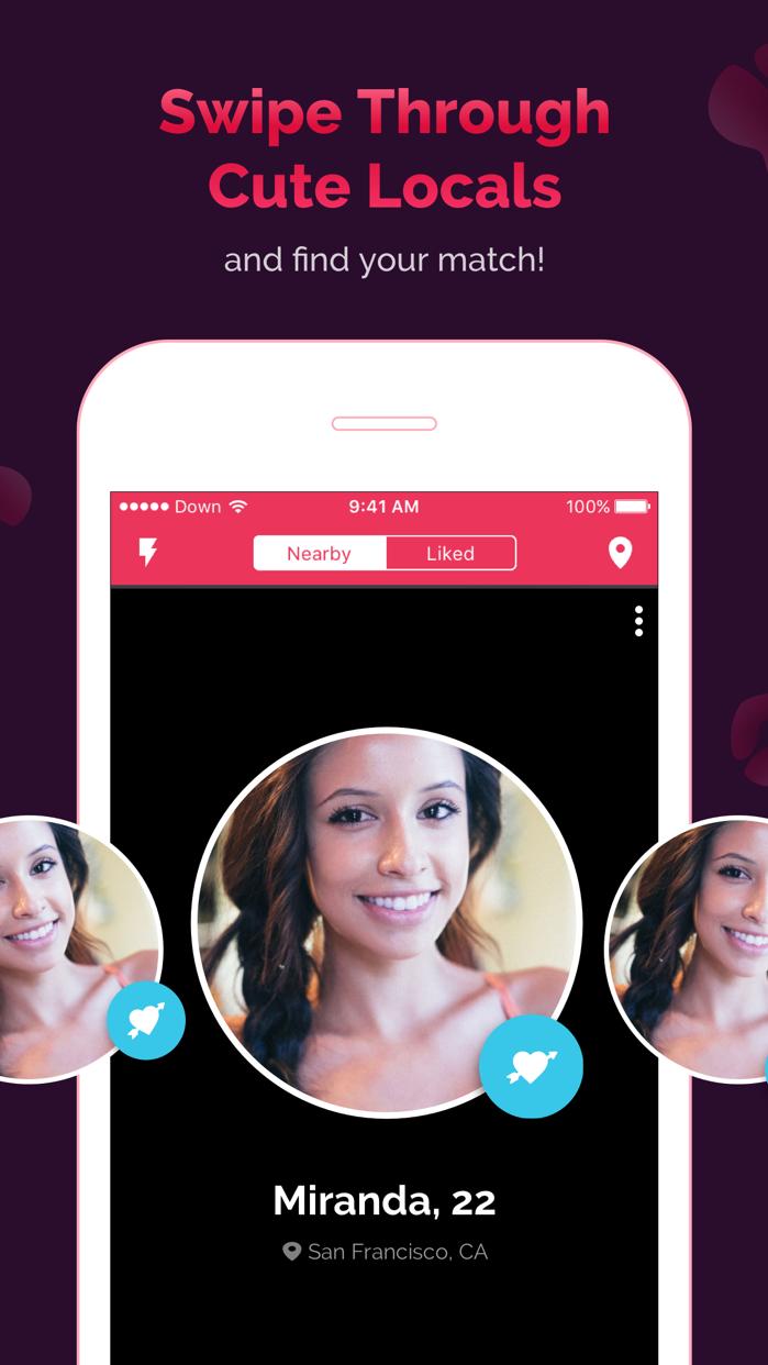 DOWN Dating: Flirt and Hookup Screenshot