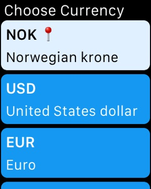 How Much? – Currency Converter Screenshot