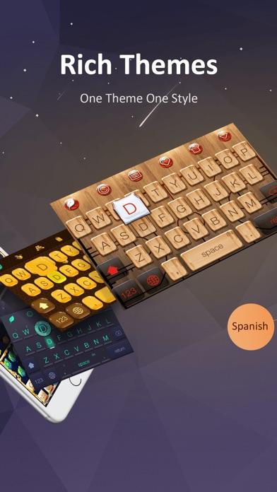 GO Keyboard-Emojis&Cool Themes ScreenShot0