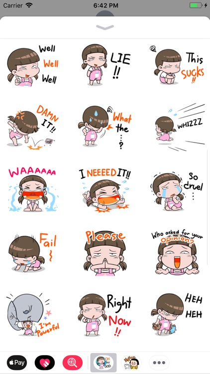 Nami - Little Girl Sticker screenshot-2