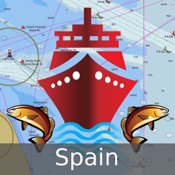 i-Boating Charts™ Spain: Marine Navigation Charts