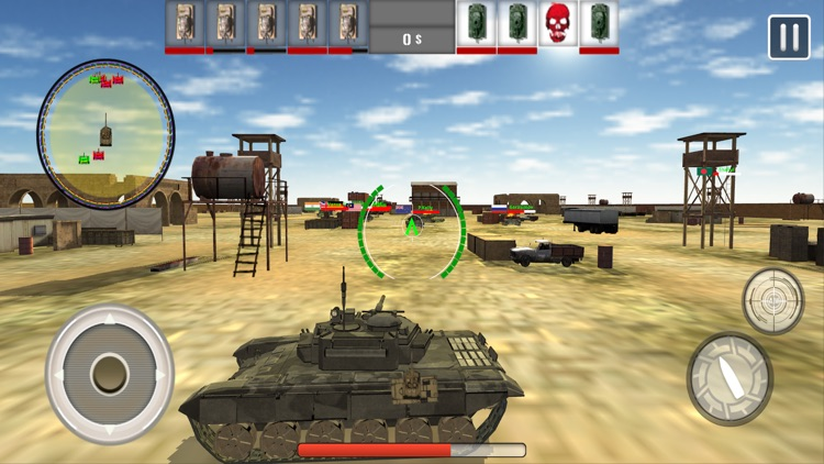 Tank War Revenge 3D screenshot-2