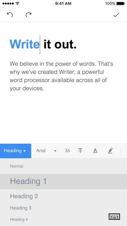 Writer - Write, Discuss, Sync