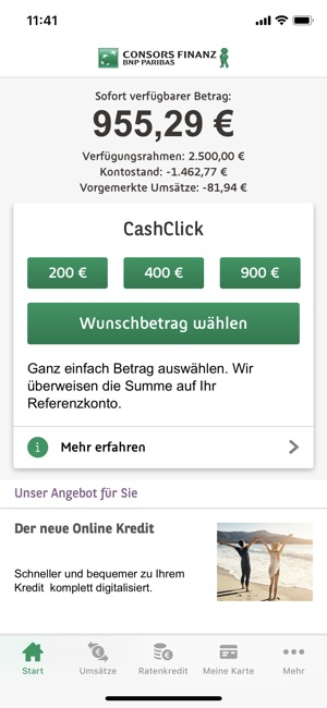 consors finanz mobile banking on the app store. Black Bedroom Furniture Sets. Home Design Ideas