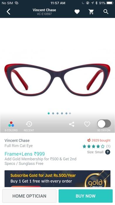 Screenshot for Lenskart: Eyewear Shopping App in India App Store