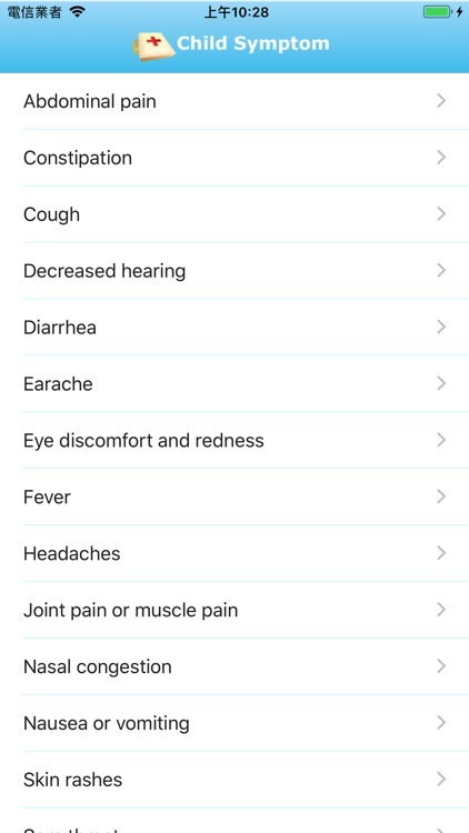 Child Symptom Checker