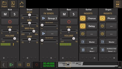 Audio Evolution Mobile Studio app image